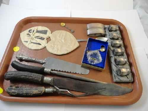 12210050X: STERLING SILVER ACCESSORY LOT: SEWING ITEMS,