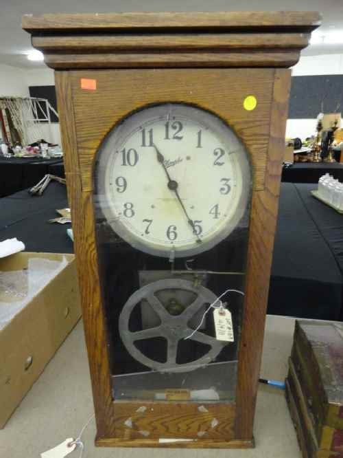 12210096: SIMPLEX TIME RECORDER WALL CLOCK