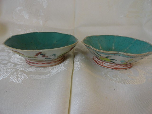 12210100Y: 2 19TH C. CHINESE BOWLS