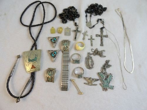 2290003: LARGE LOT OF MOSTLY STERLING SILVER JEWELRY