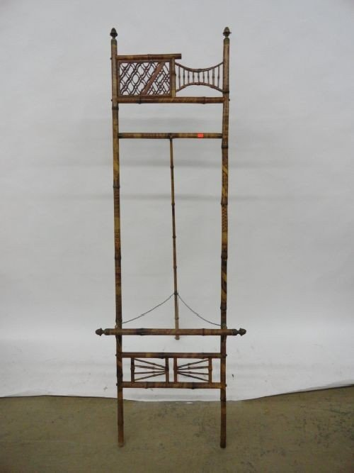 2290147: VICTORIAN RATTAN BAMBOO EASEL