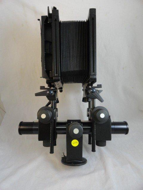 2290060N: SINAR F 4x5 VIEW CAMERA W/ METER BACK