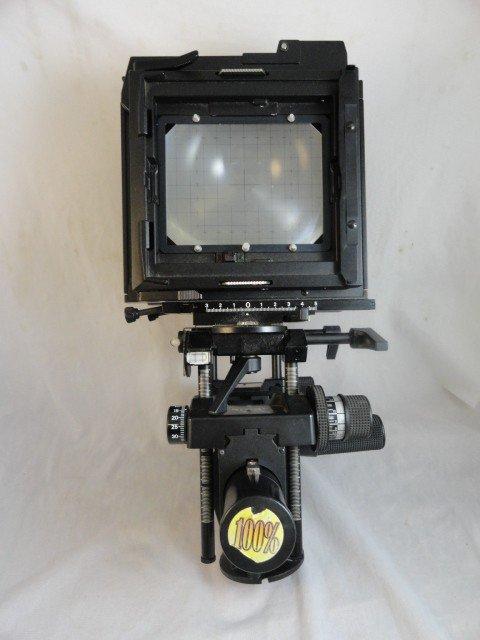 2290060N: SINAR F 4x5 VIEW CAMERA W/ METER BACK - 2