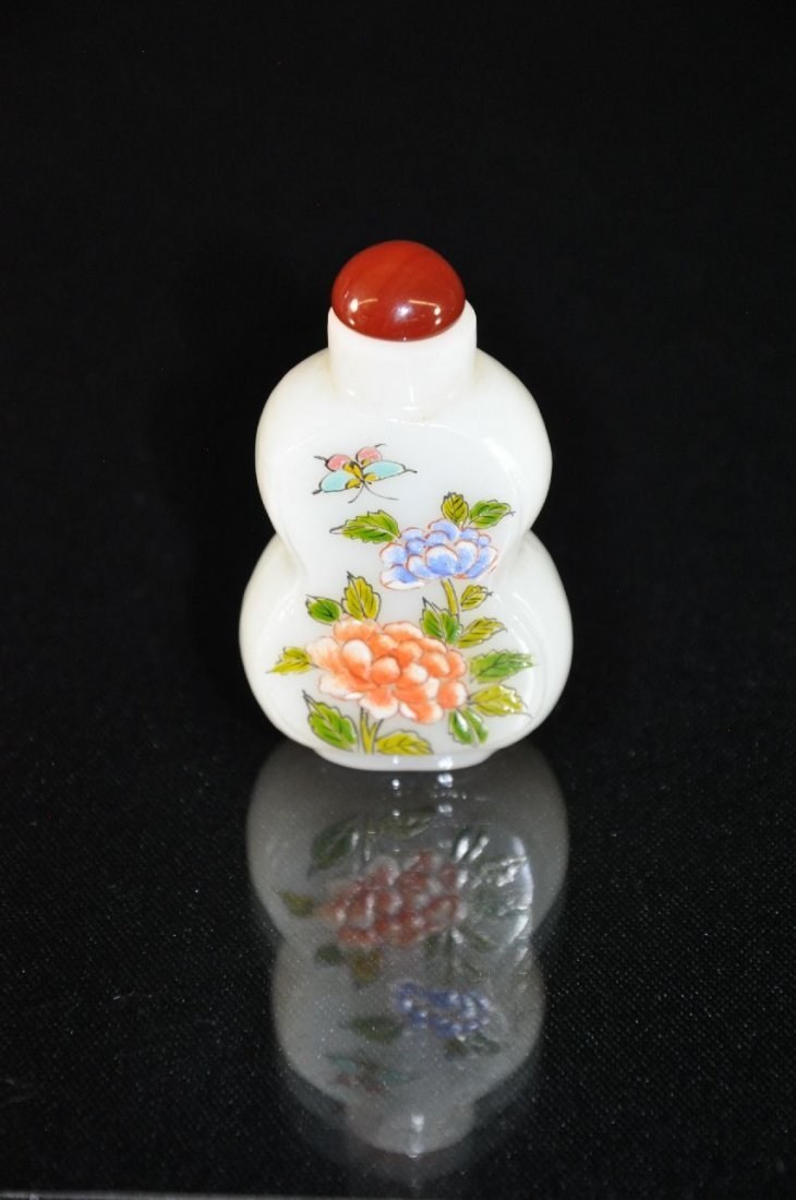 6290017: 19TH C. CHINESE GLASS SNUFF BOTTLE