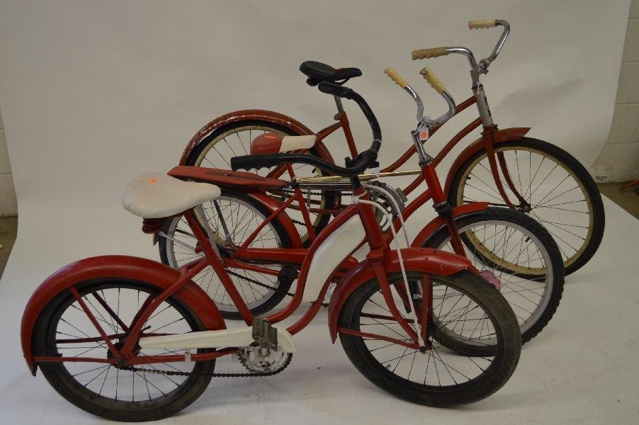 80005: 3 VINTAGE BICYCLES