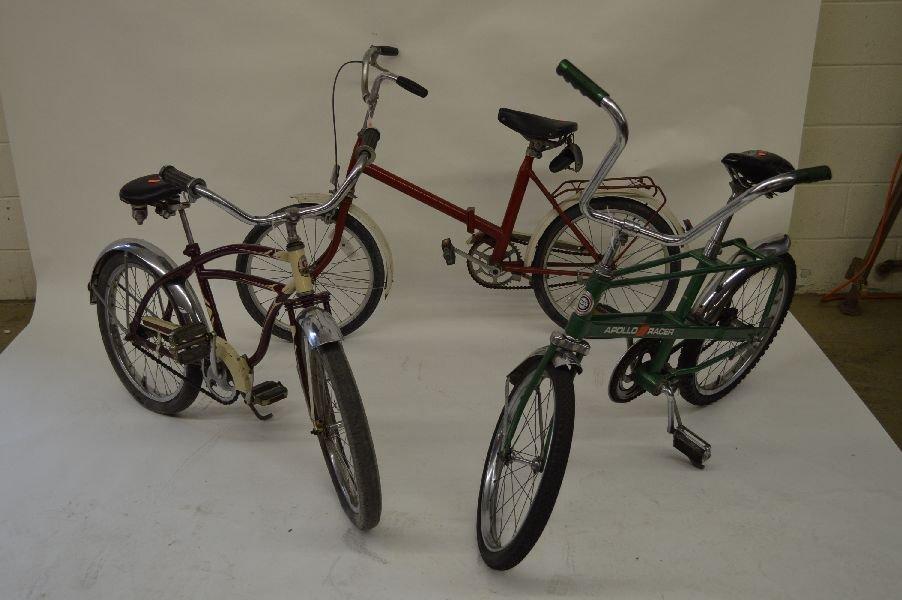 80007: 3 VINTAGE BICYCLES