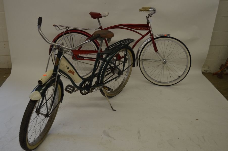 80010: 2 VINTAGE BICYCLES