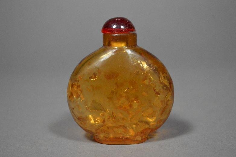 110018: Peking glass snuff bottle
