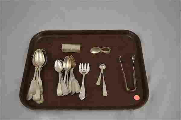 26 PCS. ASSORTED STERLING SILVER FLATWARE