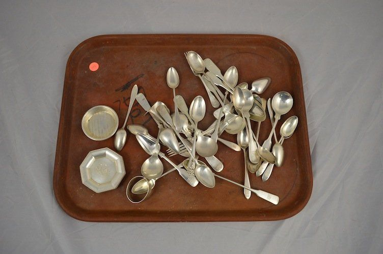 44 PCS. ASSORTED STERLING SILVER FLATWARE