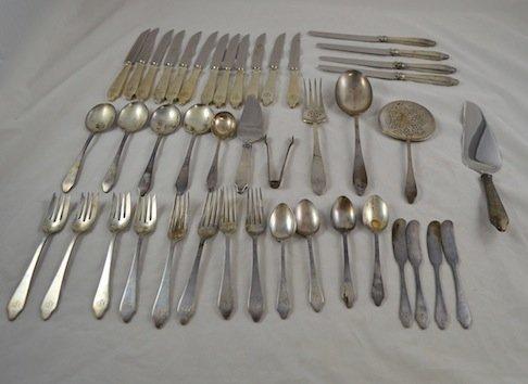 30 Pieces of Gorham Sterling Silver Flatware