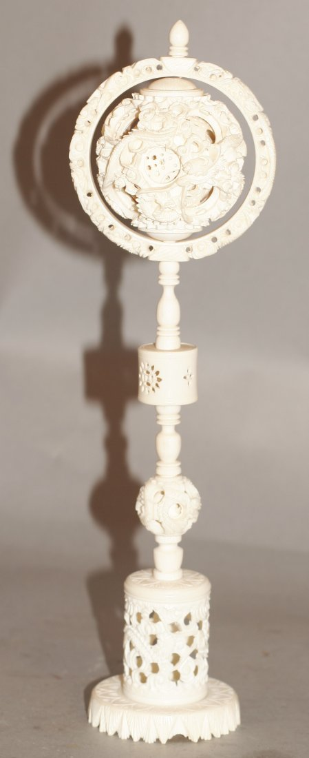 Ivory Puzzle Ball