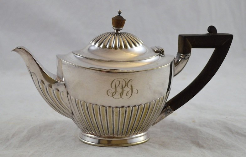 Tiffany & Co. Soldered Silver Teapot