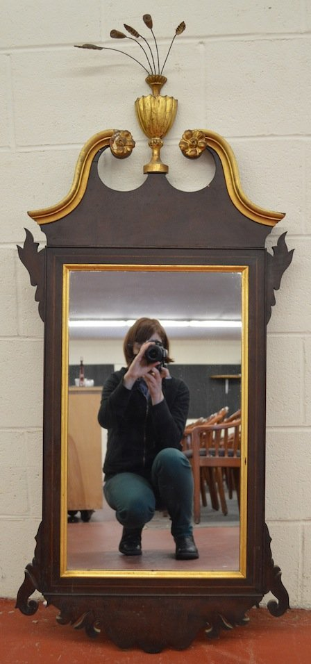 Chippendale Centennial Gilt Wall Mirror
