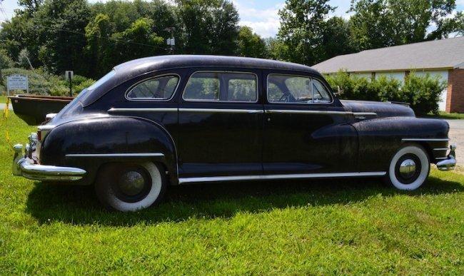 1948 Chrysler Windsor Sedan/Limo. 72,000 miles