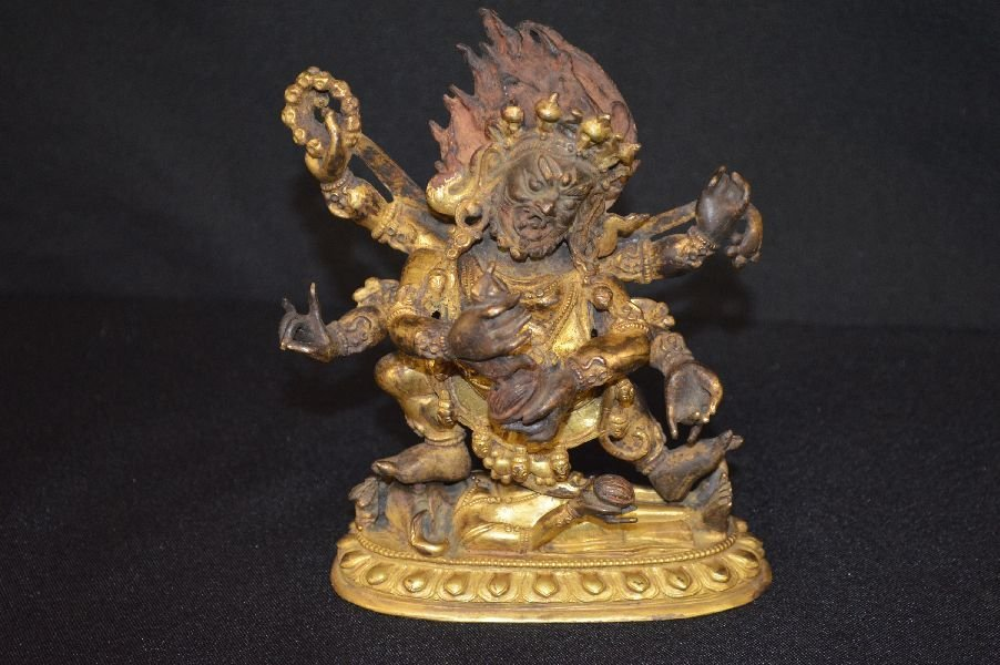 Gilt-bronze Of Tibet Buddha Figure