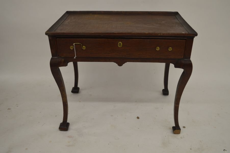 19TH CENTURY QUEEN ANNE 1 DRAWER STAND