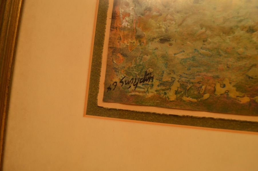 2 Lithographs/Prints; 1) Signed Rocco Negri, 2) Signed - 4