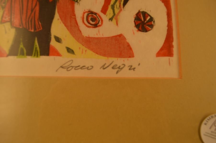 2 Lithographs/Prints; 1) Signed Rocco Negri, 2) Signed - 5
