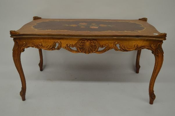 Style marquetry inlaid coffee table italian style marquetry inlaid coffee table geotapseo Choice Image