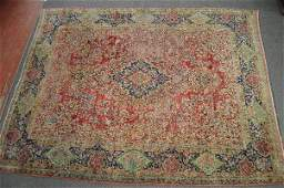 "LARGE PERSIAN AREA RUG 138""x106"""