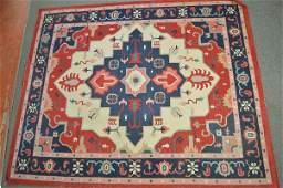 LARGE PERSIAN AREA RUG 120x99