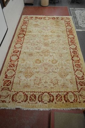 Room Size Signed Persian Carpet 21962