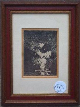 Small Print By Goya