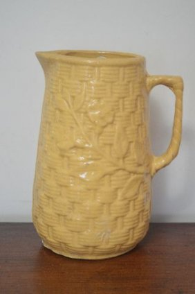 19th Century Salt Glazed Pitcher