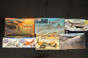 7 Revell And Other Makers Unnmade Model Airplane Lot