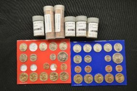 Mint Uncirculated Dollrs And Quarters