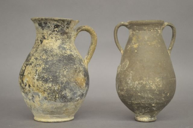 2 ANCIENT TROJAN DRINKING VESSELS