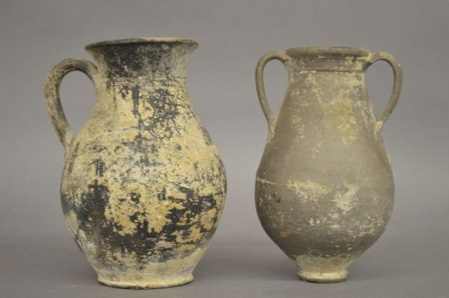 2 ANCIENT TROJAN DRINKING VESSELS - 2