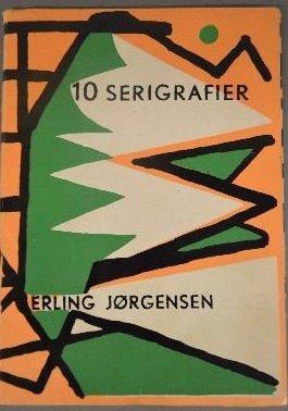 """""""10 SERIGRAFIER"""" FOLIO BY ERLING JORGENSEN"""
