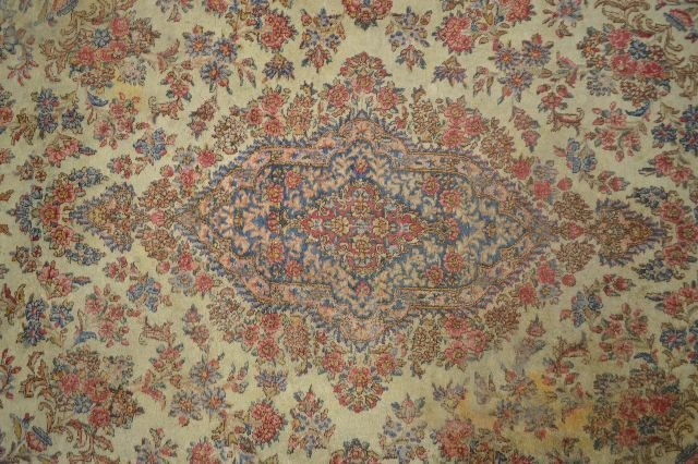 """HUGE PALACE SIZE ANTIQUE PERSIAN RUG; 16' 7"""" x 12' 11"""" - 2"""