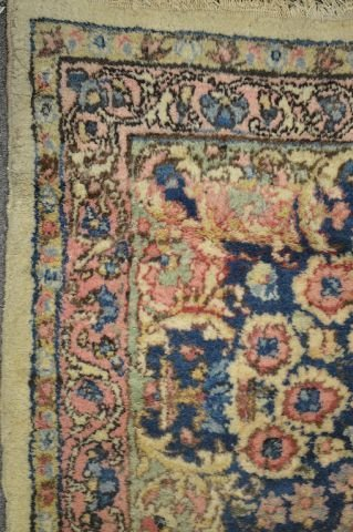 """ROOM SIZE ANTIQUE PERSIAN RUG; 12' x 8' 9"""" - 2"""
