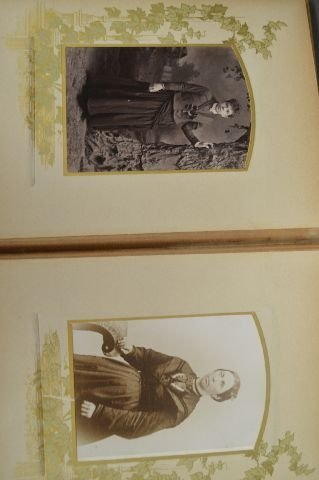 LOT OF 3 VICTORIAN PHOTO ALBUMS - 4