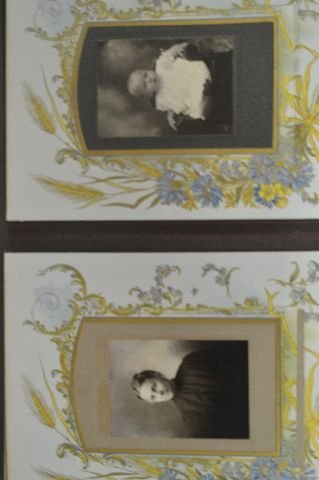LOT OF 3 VICTORIAN PHOTO ALBUMS - 6