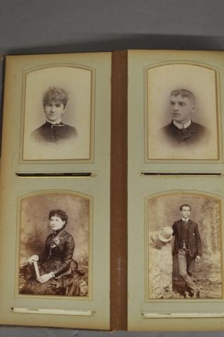 LOT OF 3 VICTORIAN PHOTO ALBUMS - 7
