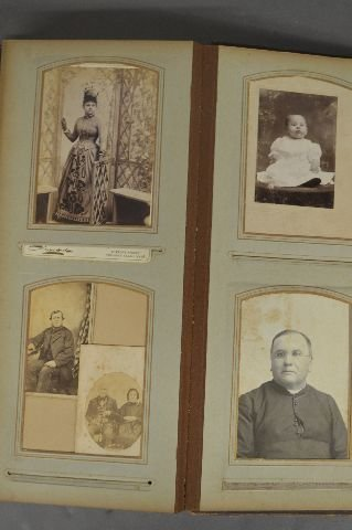 LOT OF 3 VICTORIAN PHOTO ALBUMS - 8