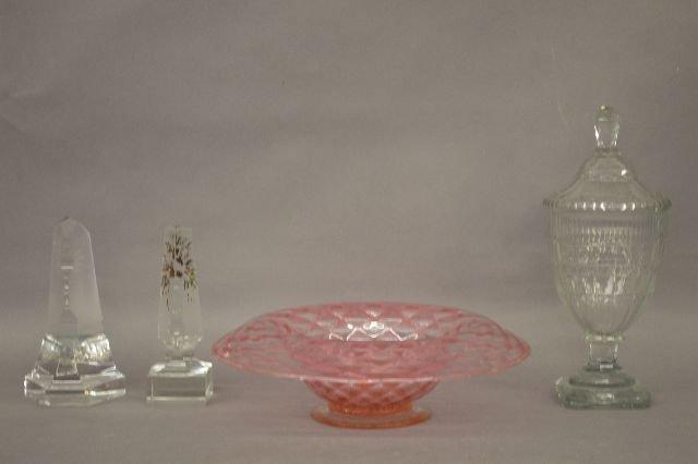 4 PIECES OF GLASS FOSTORIA