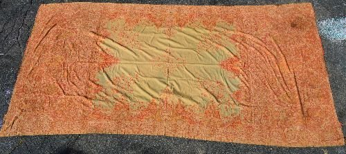 19TH CENT HAND MADE CASHMERE SHAWL
