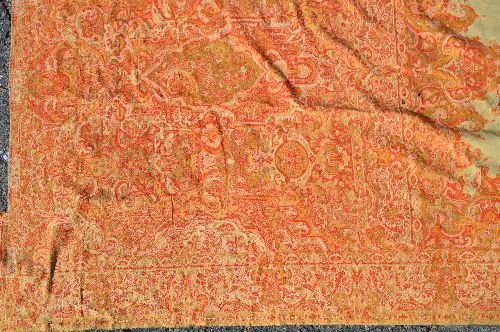 19TH CENT HAND MADE CASHMERE SHAWL - 2
