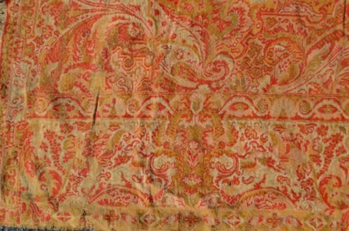 19TH CENT HAND MADE CASHMERE SHAWL - 4