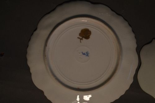 """4 PIECES EARLY DRESDEN PORCELAIN; 7 1/2"""" AND SMALLER - 4"""