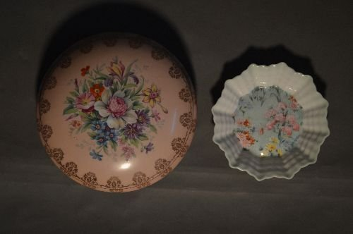 5 PIECES OF FINE PORCELAIN. SHELLEY DISH, EARLY LIMOGES - 8