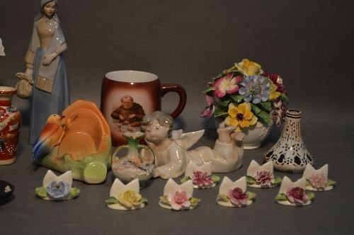 LOT OF PORCELAINS INCLUDING COALPORT LLADRO, WEDGEWOOD, - 3
