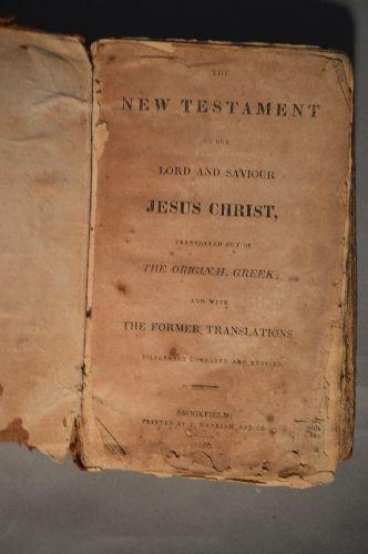 2 ANTIQUE BIBLES - 6