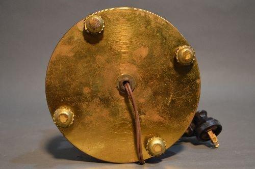 "MEISSEN RING AROUND THE ROSIE PORCELAIN LAMP.17"" TALL - 4"