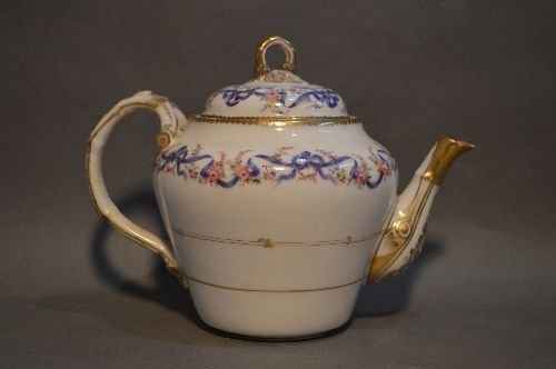 EARLY LIMOGES HAND PAINTED PORCELAIN LUNCHEON SERVICE - 2